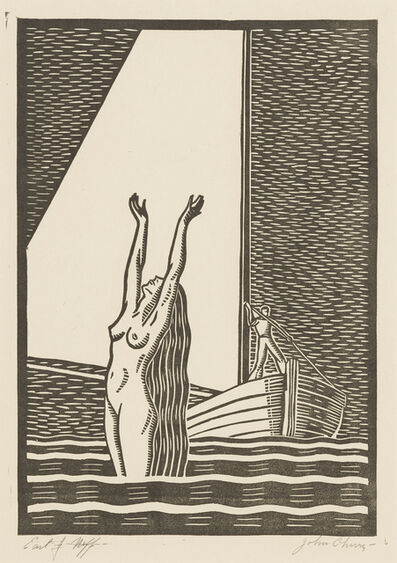 Earl Neff, 'The White Sail, or Siren', ca. 1945