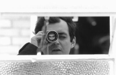 Unknown Artist, 'Stanley Kubrick with his viewfinder during the production of Lolita', 1960-1962