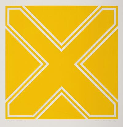 Rollin Schlicht, 'Yellow Cross 11'