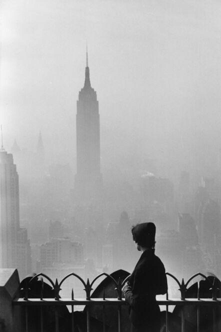 Elliott Erwitt, '7. New York City. (Empire State building)', 1955