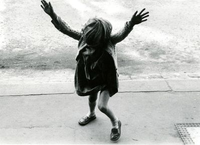 Roger Mayne, 'Girl about to do a handstand, Kensal Road', 1957-printed 1984
