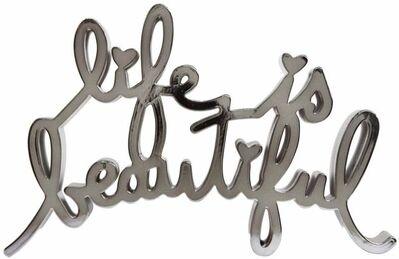 Mr. Brainwash, 'Life Is Beautiful Hard Candy (Dark Silver)', 2017