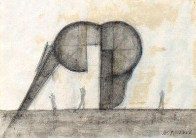 Walter Pichler, 'Schädeldecke (wie ein Gebäude)', 2006