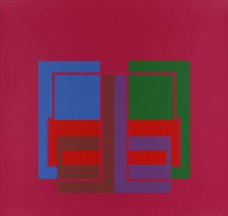 Robyn Denny (1930-2014), 'All Through the Day II (pink)', 1970