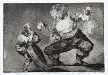 Francisco de Goya, 'Tras el Vicio Vene el Fomicio', ca. 1816