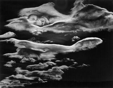 Brett Weston, 'Untitled (Clouds, Owens Valley)', 1968