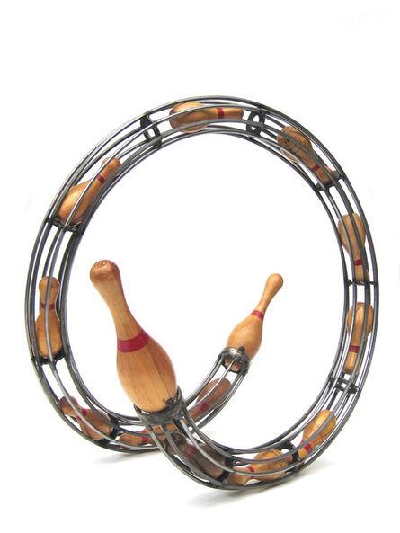 Aaron Kramer, 'Small Pin Spiral', 2011
