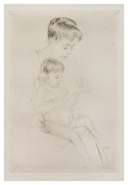 Mary Cassatt, 'The Manicure', c. 1908