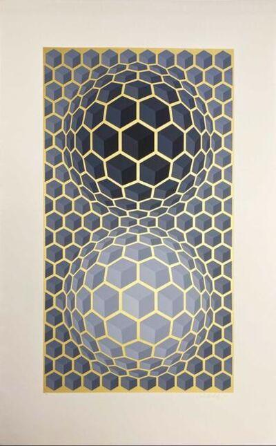 Victor Vasarely, 'Album Meta: Seven Plates 6', 1976