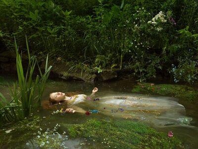 Julia Fullerton-Batten, 'Ophelia after Millais', 2018