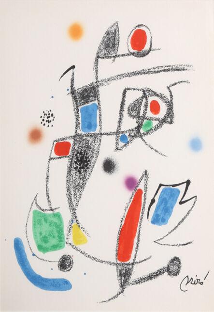 Joan Miró, 'Maravillas con Variaciones Acrosticas en el jardin de Miro (Number 12)', 1975