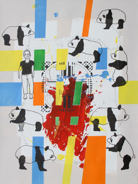 Eddie Botha, 'Pandamanium', ca. 2019