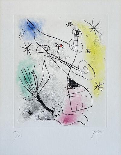 Joan Miró, 'Feuilles éparses', 1957