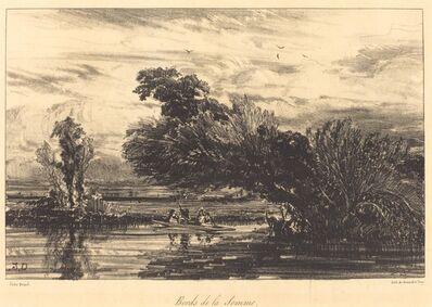 Jules Dupré, 'Bank of the Somme (Bords de la Somme)', 1836
