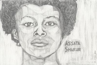 Magdalena Jitrik, 'Assata Shakur', 2014