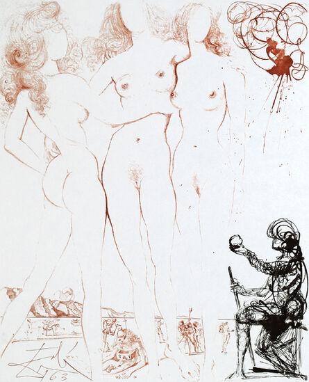 "Salvador Dalí, 'Mythology ""Judgement of Paris LXXXII/C""', 1963"