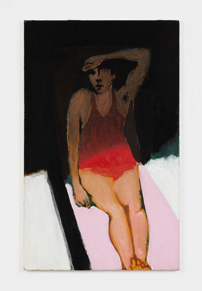 Jonathan Wateridge, 'Pink Lounger', 2021