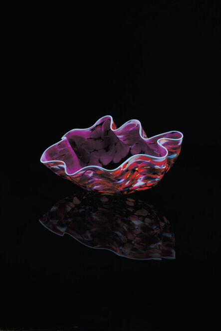 Dale Chihuly, 'Viola Plum Macchia Studio Edition 2021', 2021