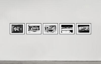 David Goldblatt, 'While in traffic', 1967