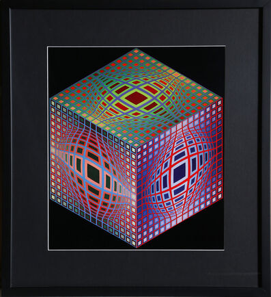 Victor Vasarely, 'Untitled 3 from Progressions', 1973