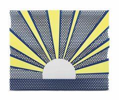 Roy Lichtenstein, 'Sunrise'