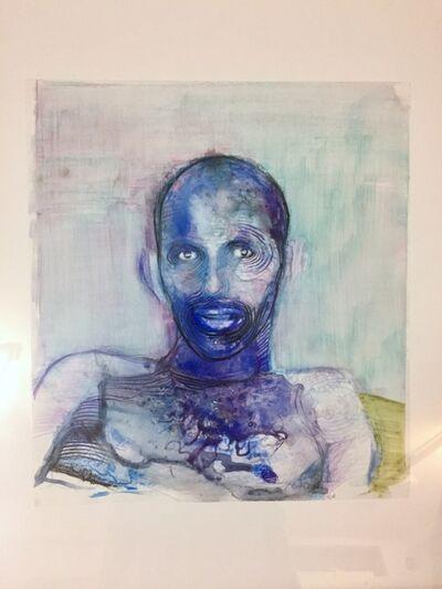 Geoffrey Chadsey, 'Blue Portrait', 2008