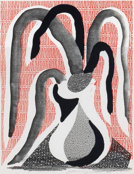 David Hockney, 'The Drooping Plant, June 1986', 1986