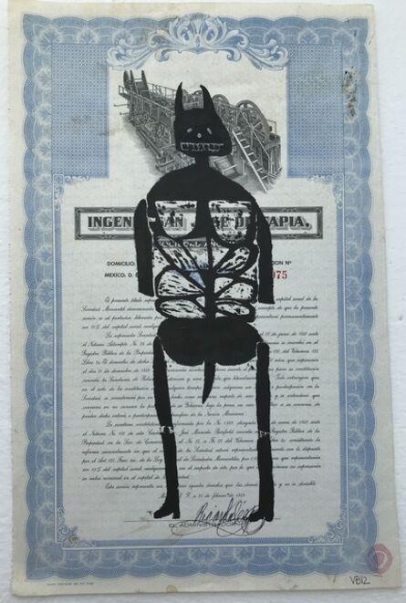 Victoria Behm, 'Blue Skeleton II', 2012