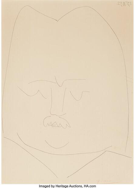 Pablo Picasso, 'Balzac', 1952