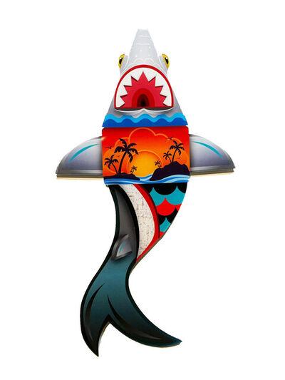 Alex Yanes, ''Tropical Tiburon' Die Cut Wall Hanging', 2021