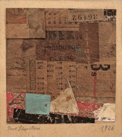Kurt Schwitters, 'Untitled (Merzzeichnung)', 1926