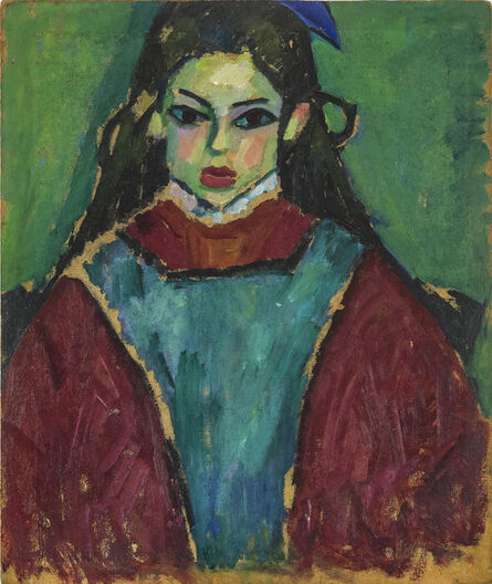 Alexej von Jawlensky, 'Portrait of a Girl / Farmhouse Garden', 1910 / 1907