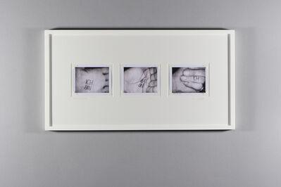 Ulay, 'Anagrammatic Body Aphorisms (Ich bin Ich)', 1974