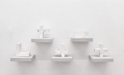 Matt Mullican, 'Untitled (Cosmology, Five Solids)', 1995