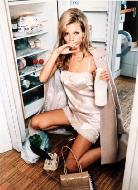 Ellen von Unwerth, 'Kate Moss (Milk)', 2005