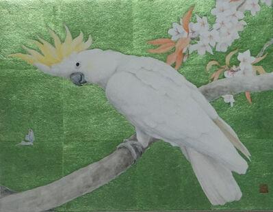 Sanzhi Chun 三枝淳, '鹦哥图'