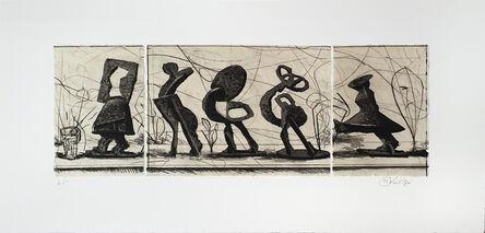 William Kentridge, 'Procession', 2021