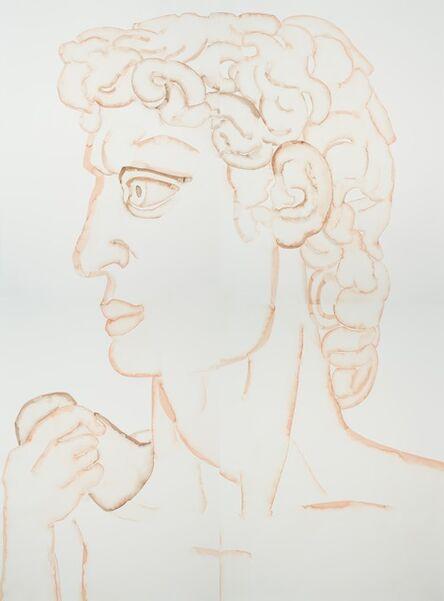 Hu Zi 胡子, 'Michelangelo David', 2018