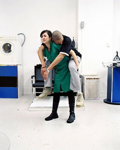 Alana Riley, 'At the Barbershop (Surrender)', 2004