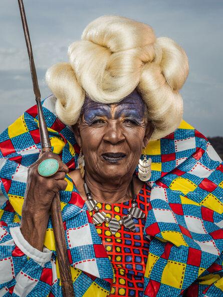 Osborne Macharia, 'Magadi Portrait 1', 2017