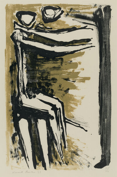 Kenneth Armitage, 'Mother and Child', 1953
