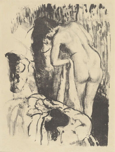 Edgar Degas, 'Nude Woman Standing, Drying Herself (Femme nue debout, a sa toilette)', ca. 1890