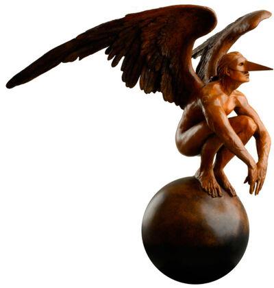 Jorge Marín, 'Angel over the world', 2009