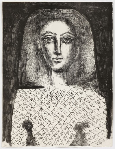 Pablo Picasso, 'La Corsage a Carreaux', 1949