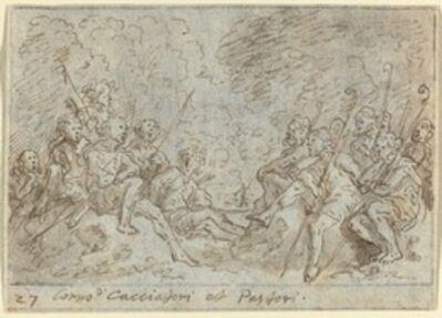 Johann Wilhelm Baur, 'Chorus of Hunters and Shepherds', 1640