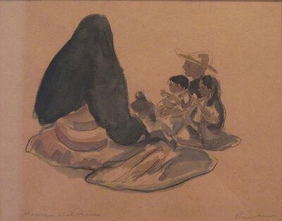 Ralph Wickiser, 'Mexican Children', 1938