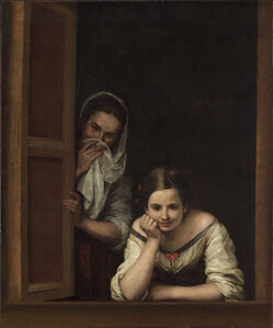 Bartolomé Esteban Murillo, 'Two Women at a Window', ca. 1655/1660