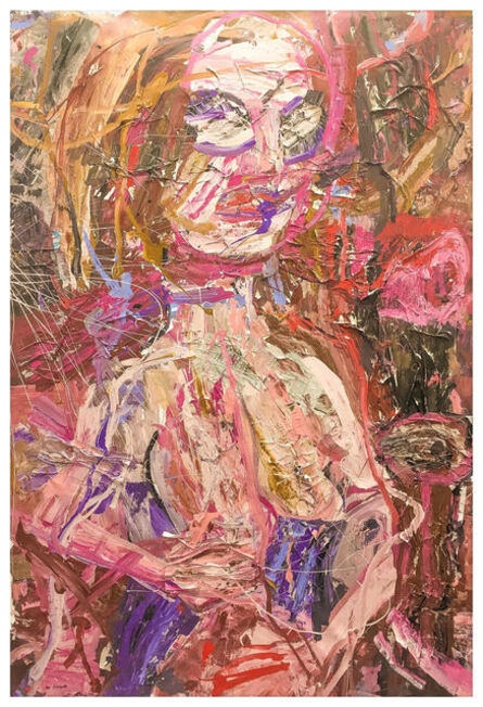 Gerald Davis, 'Untitled Nude (Burnt Sienna) ', 2017