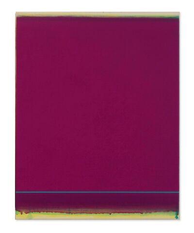 Shingo Francis, 'Veil (turquoise-violet)', 2015