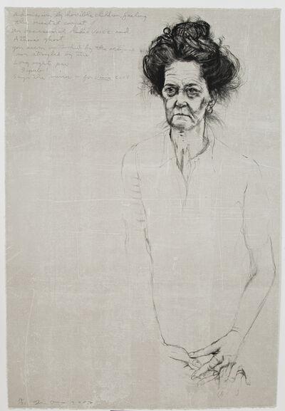 Jim Dine, 'Big Diana with Poem', 2007